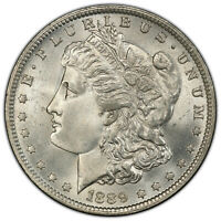 1889-O $1 DOUBLED DATE PCGS MINT STATE 65 VAM 6  LOW POP TOP-100 MORGAN DOLLAR VARIETY