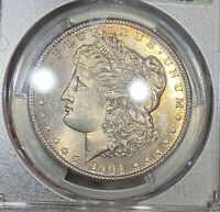 1904-S PCGS & CAC MINT STATE 65 MORGAN SILVER DOLLAR PCGS 30TH ANNIVERSARY HOLDER