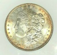 1888 MORGAN SILVER DOLLARNGC MINT STATE 64 BEAUTIFUL COIN REF73-059