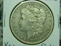 1886- O  MORGAN SILVER DOLLAR OVER 134 YEARS OLD / PART OF U. S. HISTORY