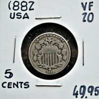 1882 UNITED STATES 5 CENTS