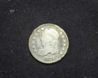 HS&C: 1831 CAPPED BUST HALF DIME VG - US COIN