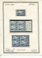 MINT UNUSED POSTAGE MOUNTED ON PAGES 13 CENT VALUES $27.00 F