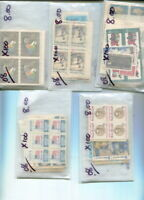 $40.00 FACE ALL 8 CENT POSTAGE MNH IN GLASSINES