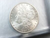 1889-S SAN FRANCISCO MORGAN SILVER DOLLAR UNCIRCULATED T9