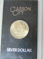 GSA 1883-CC MORGAN SILVER DOLLAR VAM 5 UNCIRCULATED CARSON CITY WITH BOX NO COA