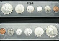 1960   SILVER DOLLAR COIN SET     ALMOST $40.00 WORTH OF SIL