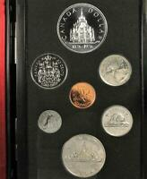 1976 CANADA DOUBLE SILVER DOLLAR PROOF COIN YEAR SET  Y57