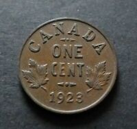 1923 CANADA 1 CENT COIN FINE CIRCULATED CONDITION LOT16