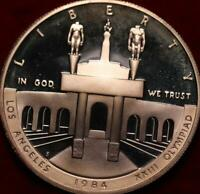 UNCIRCULATED PROOF 1984 S LOS ANGELES XXIII OLYMPIAD SILVER