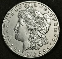 1900-O MORGAN SILVER DOLLAR.  B.U.  INVENTORY H.  139980