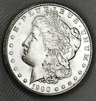 1900-O   SILVER DOLLAR.   FULL CHEST FEATHERS.   BU  INV.A