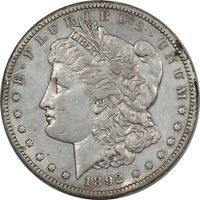 1892-CC MORGAN DOLLAR- HIGH GRADE EXAMPLE, BENT