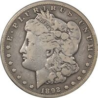 1892-CC MORGAN DOLLAR- PLEASING CIRCULATED EXAMPLE