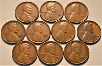 LOT  10  BETTER DATE LINCOLN CENTS 1910 S 1911 S 1913 S 1922