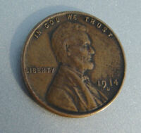 1914 D LINCOLN WHEAT PENNY CENT