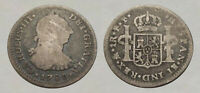 AMAZING     1780 COLONIAL SILVER COIN     GOOD DETAILS