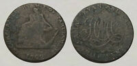 REMARKABLE     225 YEAR OLD COLONIAL COIN / TOKEN