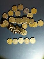 ROLL OF LINCOLN WHEAT PENNIES MIXED P D AND S 1 1935 AND 37 P . A 1919 P D S A