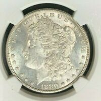 1880/9S MORGAN SILVER DOLLARNGC MINT STATE 61 VAM 11 MEDIUM SHOT 50LEGACY 020