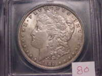 1889 MORGAN DOLLAR  ICG MINT STATE 63  VAM-1D2 ORIGINAL COIN COMBINED SHIPPING