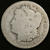 1879-CC MORGAN SILVER DOLLAR.  CIRCULATED.  153781