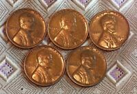 1946-P/D/S  1945-P/D LINCOLN CIR. BROWN WHEAT CENT'S  3 COIN'S    ITM3105