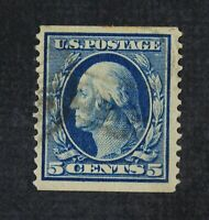 CKSTAMPS: US STAMPS COLLECTION SCOTT355 5C WASHINGTON USED 2