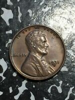 1931-S U.S. WHEAT CENT LOTJM2379 KEY DATE OLD CLEANING