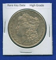 1883 S MORGAN SILVER DOLLAR $1 US MINT  KEY DATE COIN HIGH GRADE 1883-S