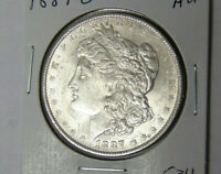 AU 1887-O MORGAN SILVER DOLLAR ABOUT UNCIRCULATED NEW ORLEANS MINT 112820