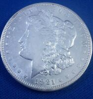 1921-D MORGAN SILVER DOLLAR PROOF COIN'S PROOF LIKE COIN'S TONER COIN'S