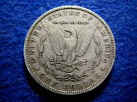 1880 MORGAN SILVER DOLLAR  - LIGHTLY TONED WITH SOME LUSTER ABOUT  FINE