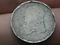 1821 SILVER CAPPED BUST DIME- LARGE DATE