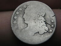 1834 SILVER CAPPED BUST DIME- OLD TYPE COIN