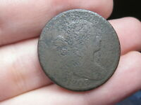 1803 DRAPED BUST LARGE CENT PENNY- SMALL DATE, LARGE FRACTION