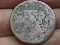 1839-1843 BRAIDED HAIR LARGE CENT PENNY, PETITE HEAD