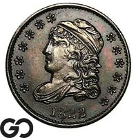 1832 CAPPED BUST HALF DIME SHARP TONED EARLY DATE COLLECTOR TYPE