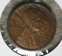 ORIGINAL 1916-S LINCOLN CENT   STRONG EXTRA FINE  COIN WITH WOOD GRAIN TONING