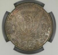 1888 S  MORGAN SILVER DOLLAR KEY DATE NGC MINT STATE 64 SOFT PASTEL COLORS