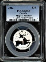 CANADA 2012 $20 PCGS SP69 MAGICAL REINDEER 20 FOR 20