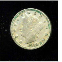 1910 P V NICKEL LIBERTY U.S 5 CENT US  OLD AMERICA VNICKEL 1  COIN 3116
