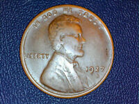 1927-D LINCOLN WHEAT CENT PENNY CHOICE AU/UNC SHIPS FREE