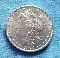 1897 MORGAN SILVER DOLLAR  UNCIRCULATED  PROOF LIKE