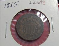 1865 TWO CENTS   SHIPS FREE A2449