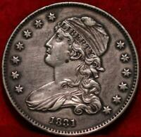 1831 PHILADELPHIA MINT SILVER CAPPED BUST QUARTER