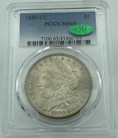 1880-CC PCGS & CAC MINT STATE 65 MORGAN SILVER DOLLAR
