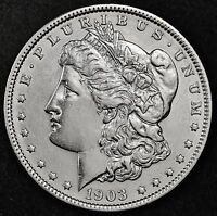 1903-P MORGAN SILVER DOLLAR.  HIGH GRADE.  100405 INV. A