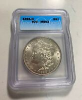 ONE MORGAN DOLLAR 1898-O ICG MINT STATE 63