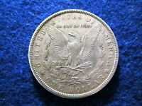 1891 O MORGAN SILVER DOLLAR - LIGHT TONED LUSTROUS EXTRA FINE   READ